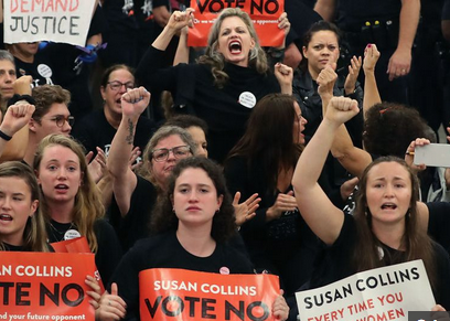 Waves of Anti-Kavanaugh Protests Break Out In D.C.