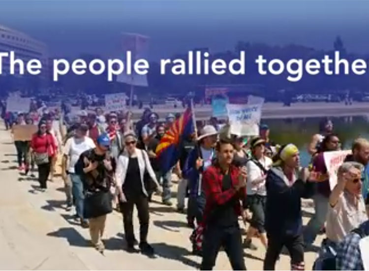 Democracy Awakening: Rally and March for Democracy