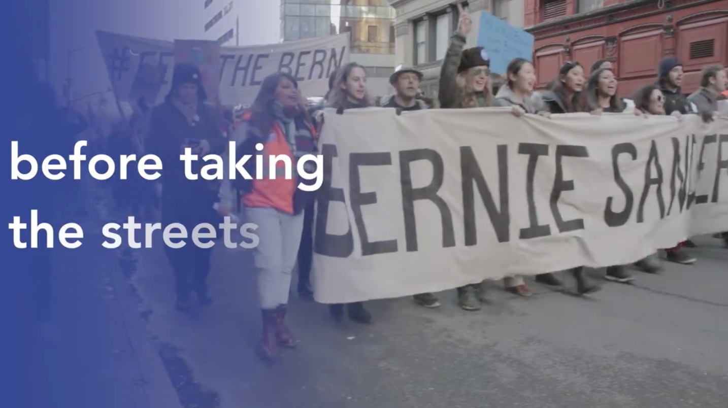 Thousands #MarchForBernie in NYC