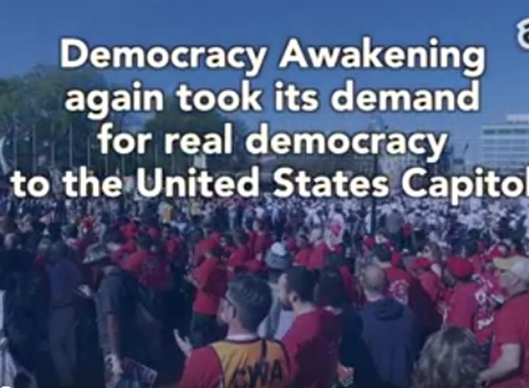 Democracy Awakening: Congress of Conscience Day of Action
