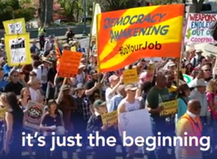 Democracy Awakening: A movement for all of us