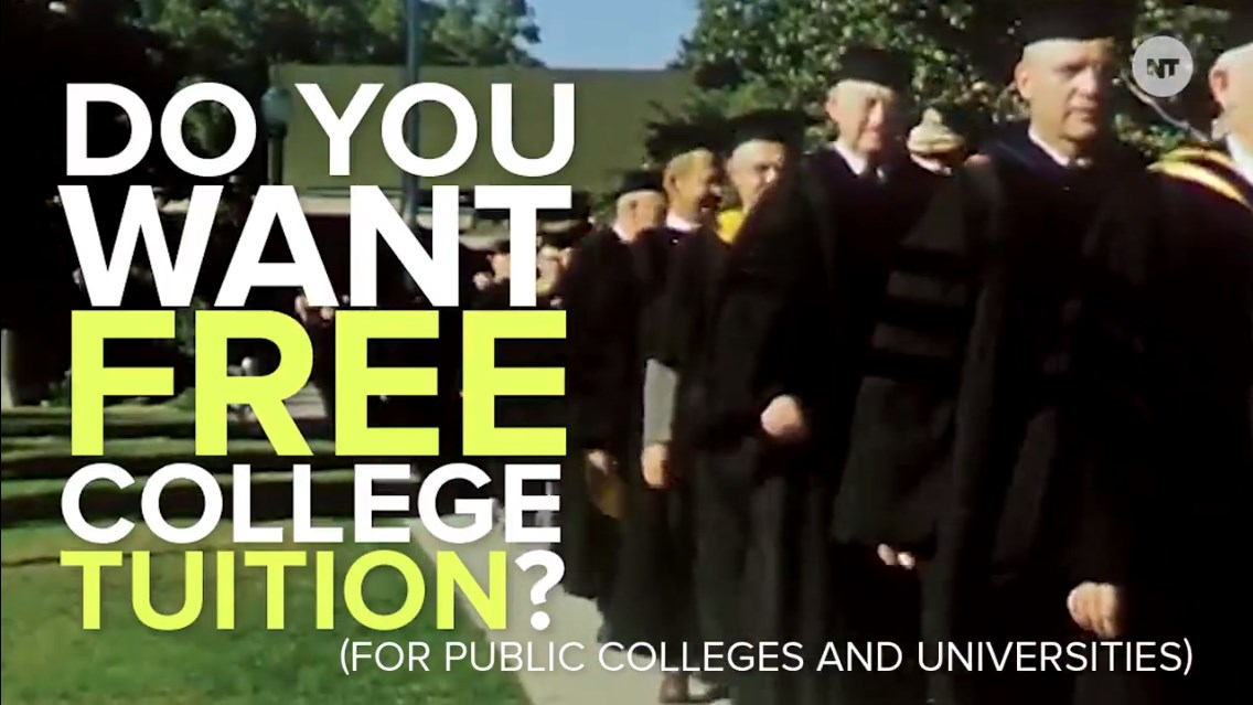 Do you want free college tuition? Bernie Sanders pushes #CollegeForAll