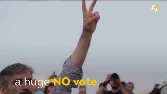 The Greek people stood up to the EU with a huge 'no' vote in the bailout referendum