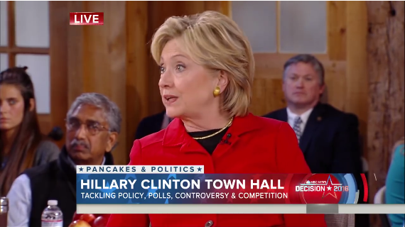 Has Hillary Clinton learned a few lessons about war?